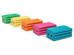 Standard plasticine, coloured