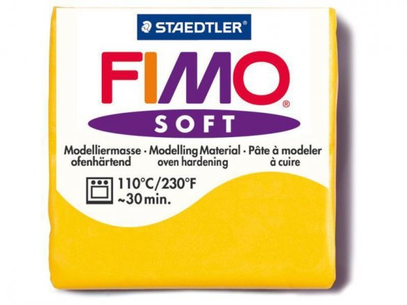 Fimo Soft modelling clay, coloured