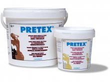 Pretex fabric stiffener