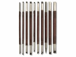 Soapstone chisel set No. 2