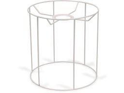 Lampshade frame, round, straight up and down