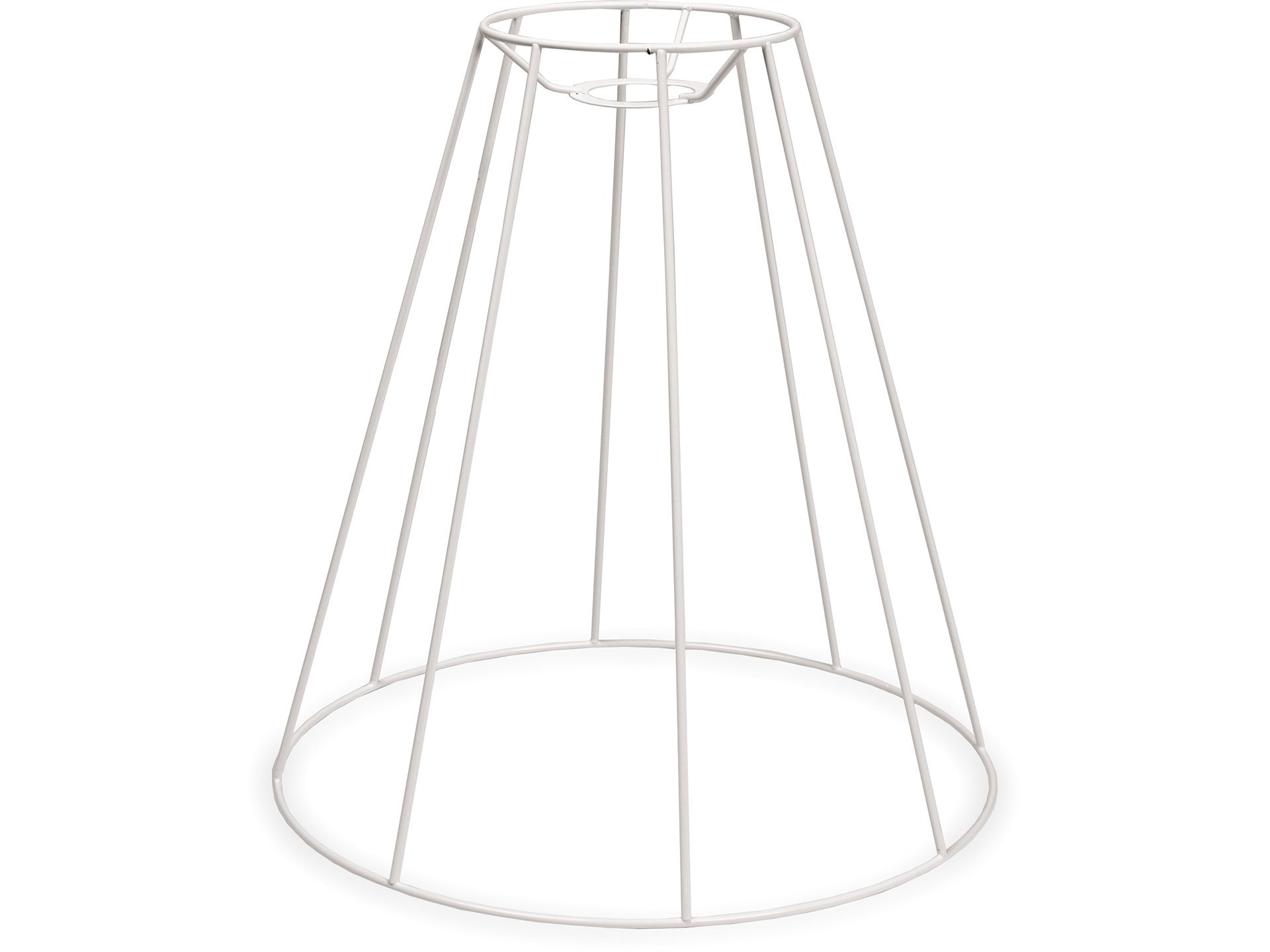 Buy Lampshade frame, round, conical (for hanging lamp) online at Modulor