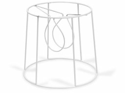 Clip-on lampshade frame, round, conical