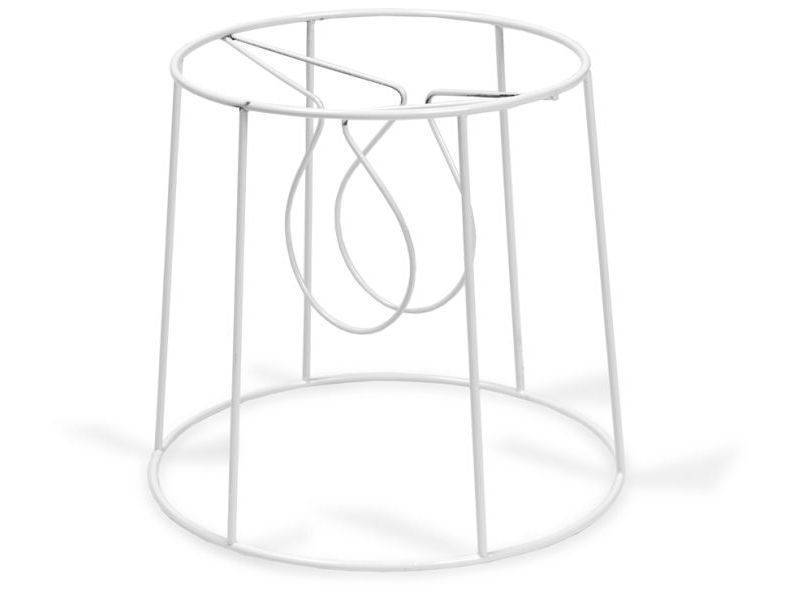 Buy clip on lampshade frame round conical online at modulor aloadofball Gallery