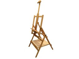 Multifunctional easel, beechwood, tiltable