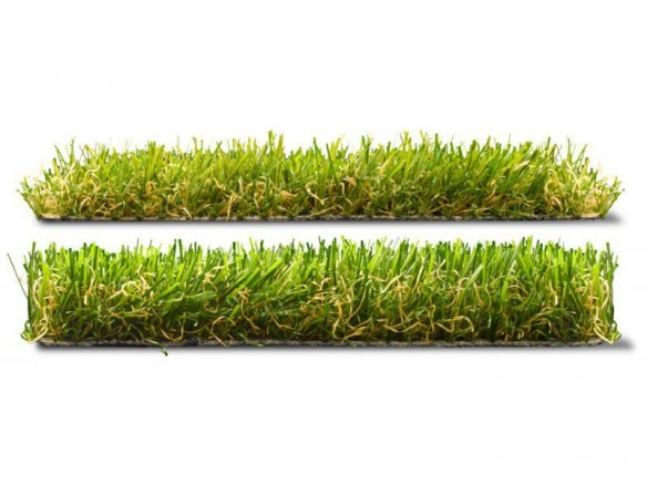 Artificial turf, long-pile