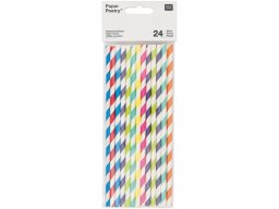Paper Poetry paper straw