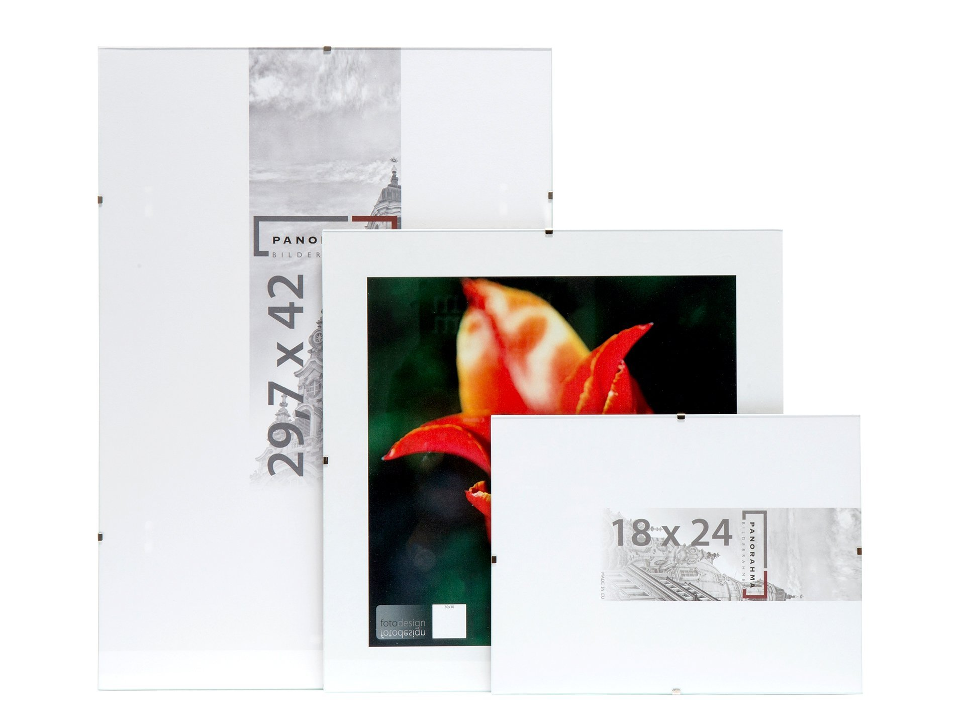 charmant rahmenlos glasbilderrahmen galerie bilderrahmen ideen. Black Bedroom Furniture Sets. Home Design Ideas