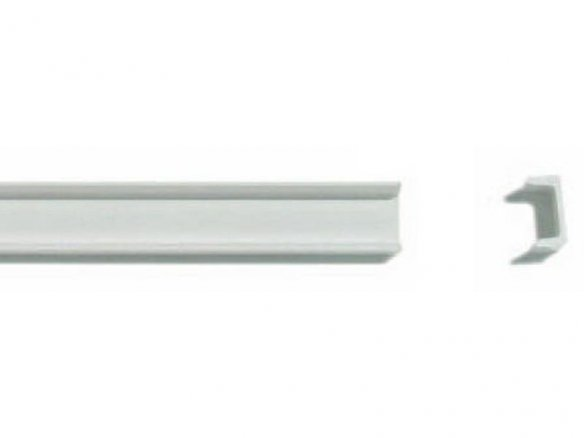 ASA U-channel strips, white