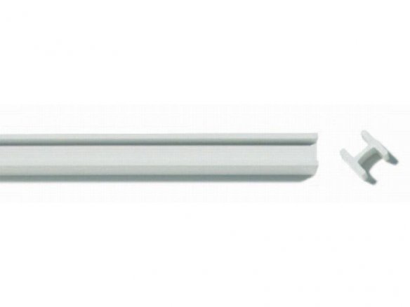 ASA H-beam strips, white