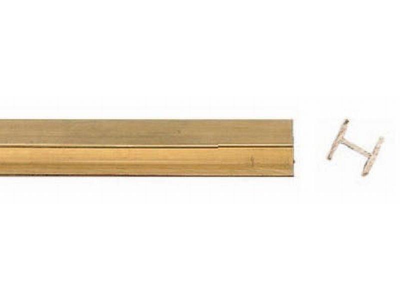 messing h profil jetzt online kaufen modulor. Black Bedroom Furniture Sets. Home Design Ideas