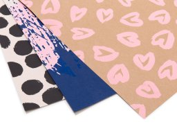 Silk Screen gift wrapping paper