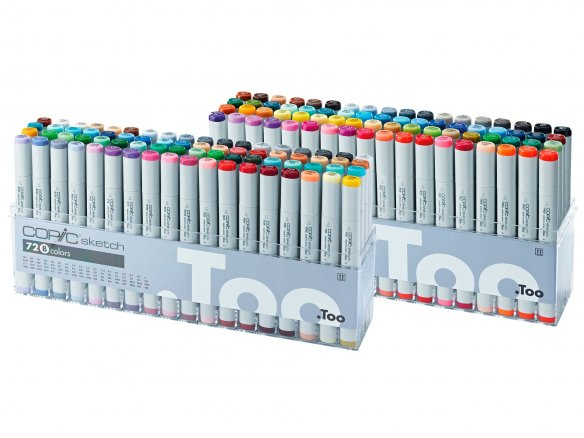 Copic Sketch Sets, 72er-Set