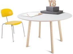 Modulor Tisch Y8 Holz Esche natur 10°