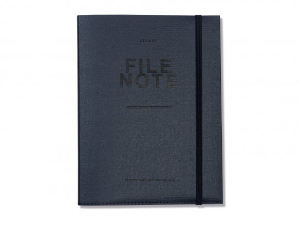 Jstory File Note, notepad with document folder