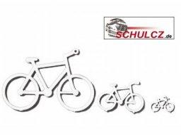 Bicicletas de poliestireno, blancas