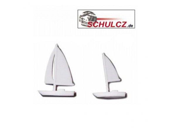 Boats, polystyrene, white, 1:1000 - 1:500