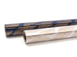 Gift wrap paper roll, feathers