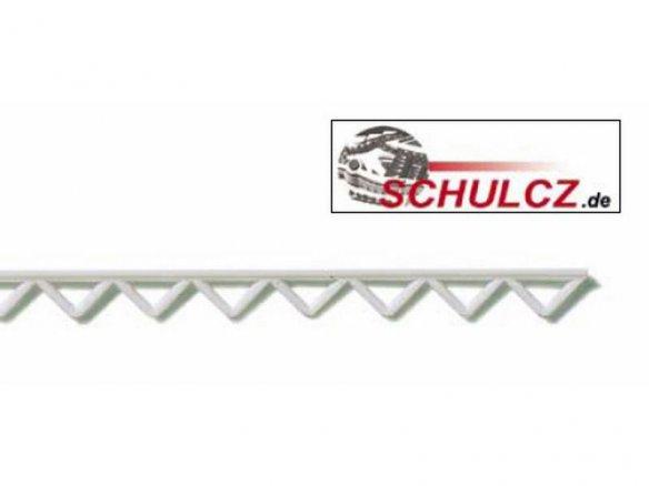 Bogengitterbinder ABS, weiß