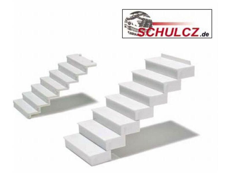 gerade treppenstufen 35° polystyrol, weiß kaufen | modulor,