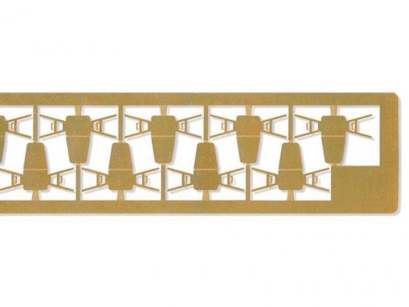 geätzte Messing-Stühle