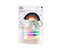 Paper Poetry Mirror Rainbow Tape