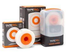 Tapetac adhesive tape stamper, one-handed applicator