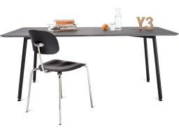 Modulor Tisch Y3 Stahl schwarz 10°