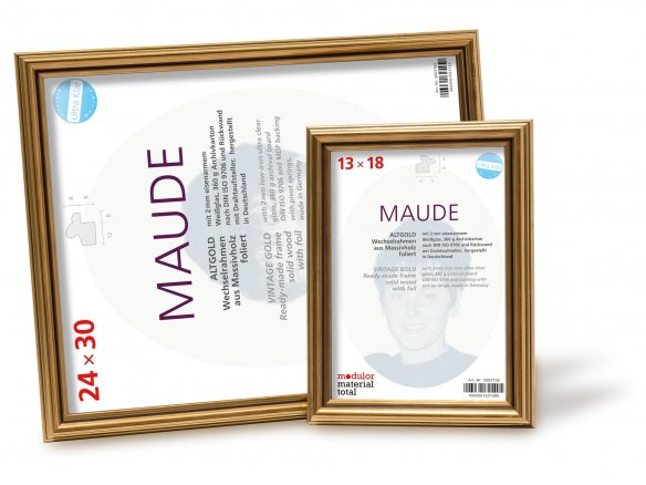 Maude wooden photo frame