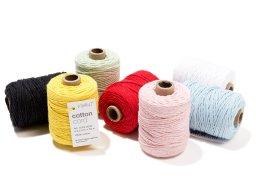 Cotton Cord cotton cord, monochrome