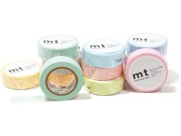 Mt 1P Basic Masking Tape, Washi Klebeband uni past