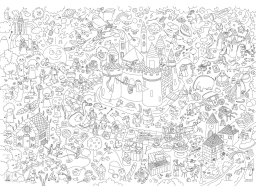 Shop OMY Giant Coloring Roll colouring poster online at Modulor