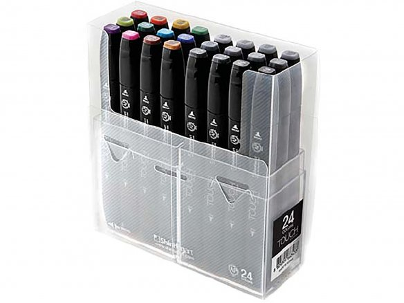 Touch Twin marker, set of 24