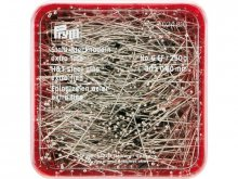 Prym straight pins, hardened and tempered steel