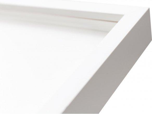 Buy Moritz Max object frame, wood, 30 x 50 cm, white online at Modulor