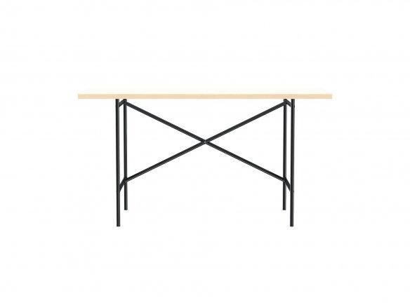 Tisch E2 (Set), Gestell:schwarz, Tischplatte: weiß, 25x680x1380 mm
