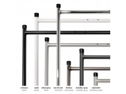 Table frame E2, side frame