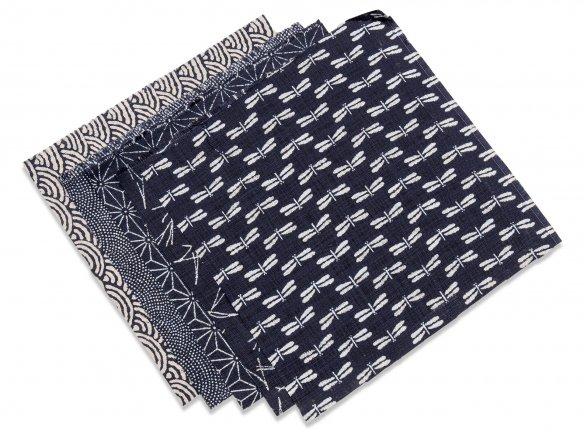 Japanese kimono fabric in blue