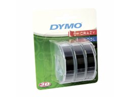Dymo embossing tape, set