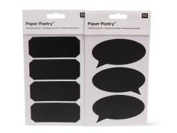 Paper Poetry chalkboard film sticker