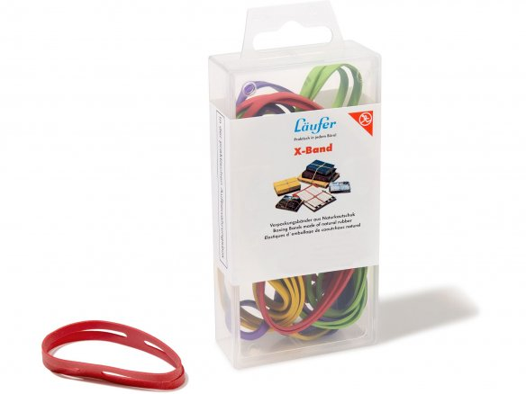 Läufer rubber X-bands in a box