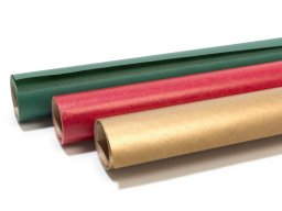 Wrapping paper, small roll, Christmas