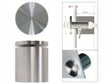 Kit Fisso steel per fissaggio a muro