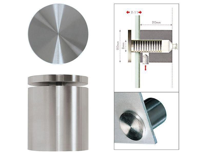 Fisso Steel Befestigung für Wandschilder kaufen | Modulor