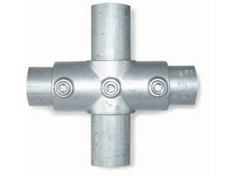 Interclamp Stahl Rohrverbinder für ø 26,9 mm Rohre kaufen | Modulor