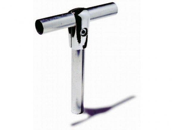 Empalme en T de aluminio para tubos ø 25 mm