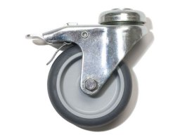 Castors for tube connector system