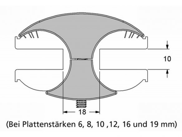 2 x 8 mm sur 4 mm 1,20 EUR//pièce 5x T-TUYAU CONNECTEUR-VARIABLE