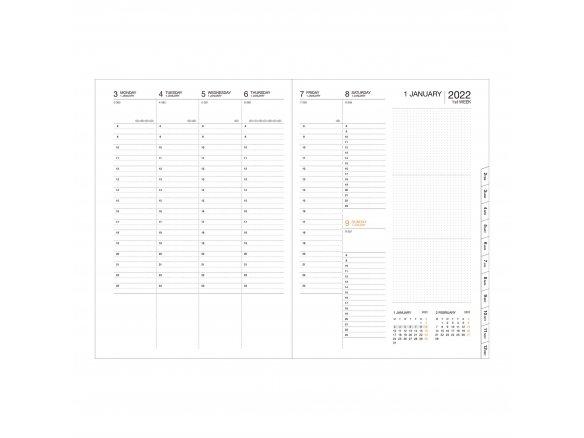 Storage.It Taschenkalender 2019 Weiß A6 Mark/'s