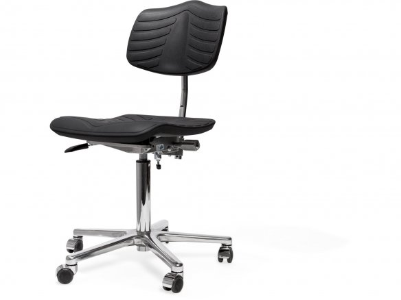 Modulor office swivel chair, PU components